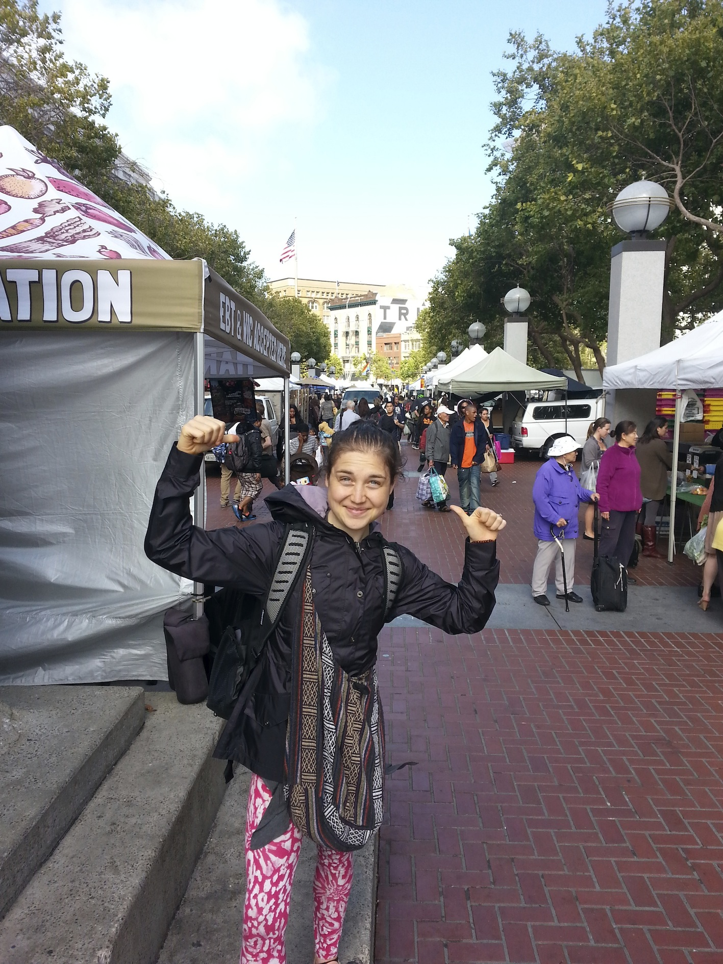 First Farmers Market in San Fran :)
