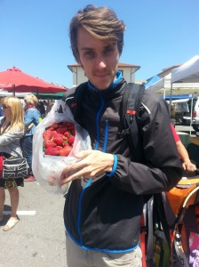 I cannot even tell you how amazing those strawberries were.