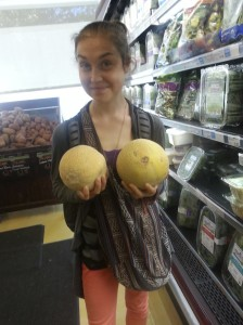Oh hey, check out my melons