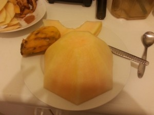 Peeled and ready for my face