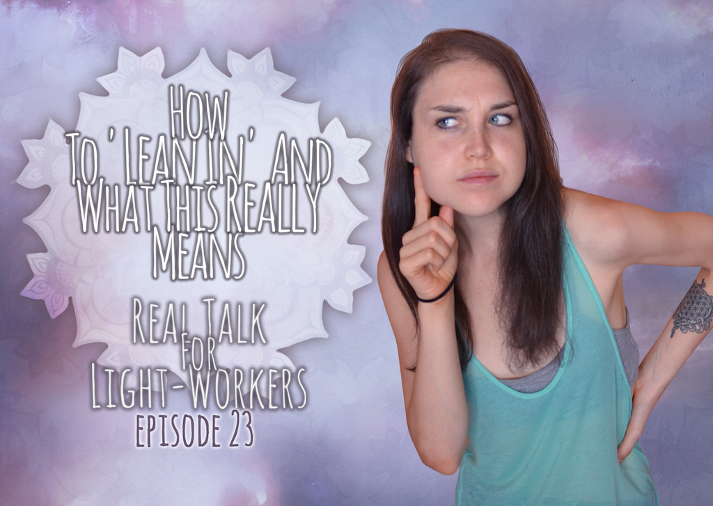 R.T.F.L.W.E.23 – How To 'Lean In' And What This Really Means.