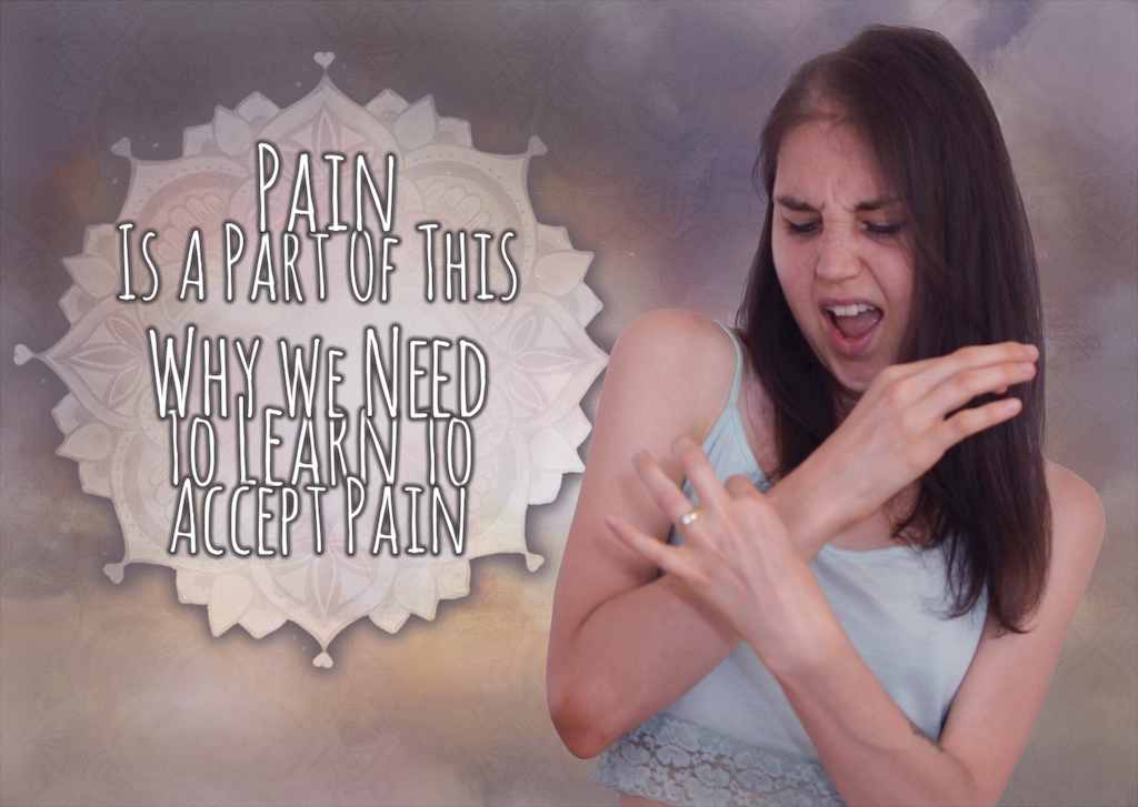 Pain Is Part Of This: We Are Not Going To Get Rid Of It