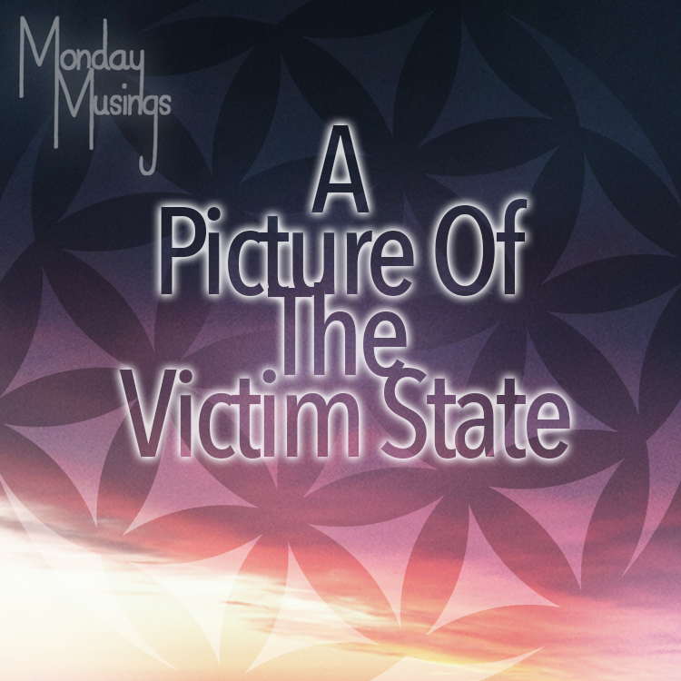 Monday Musings ~ A Picture Of A Victim State