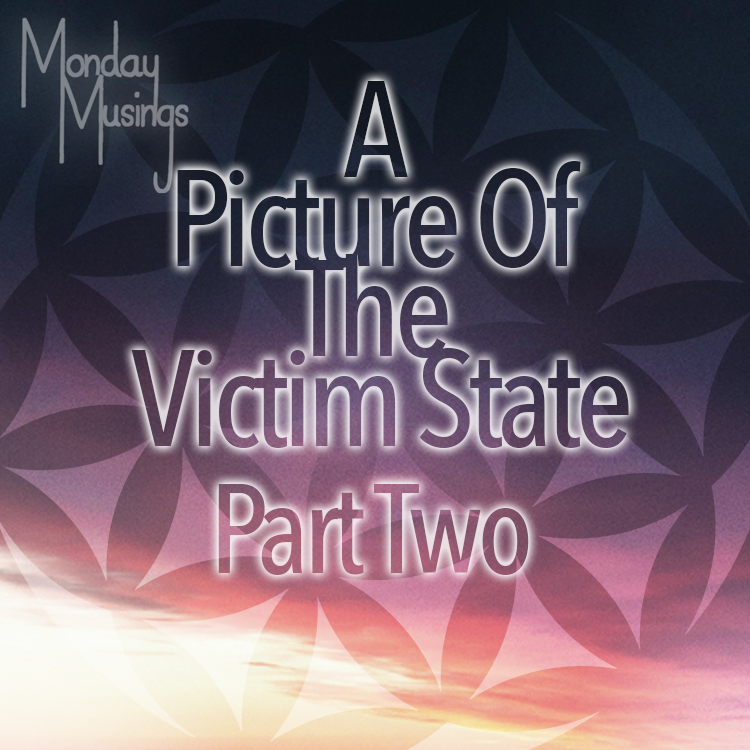 Monday Musings ~ A Picture Of A Victim State Part Two
