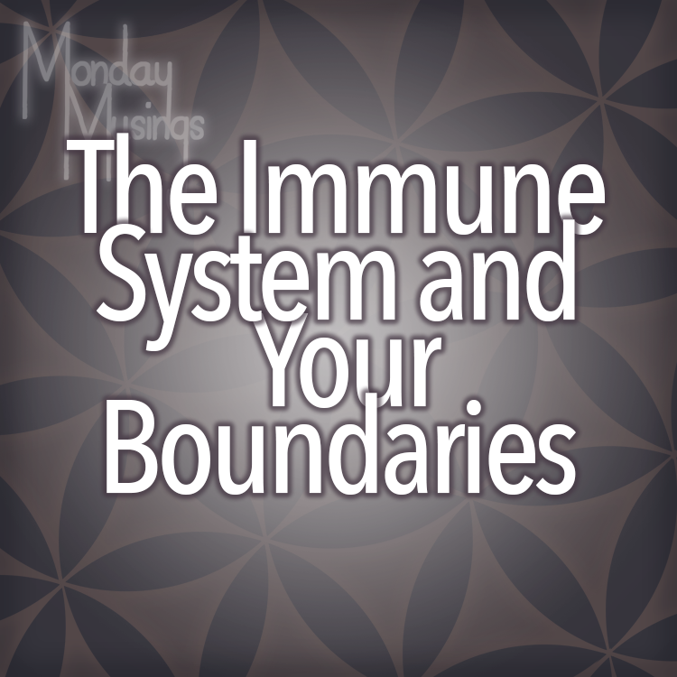 Monday Musings ~ Your Immune System And Your Boundaries