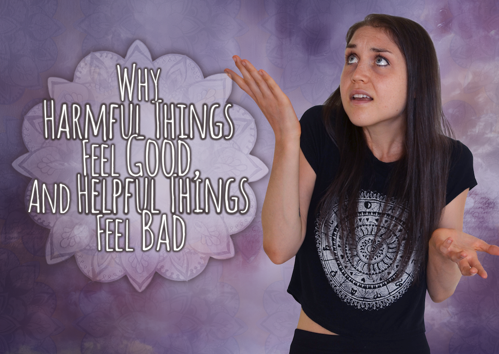 Why Harmful Things Feel Good And Helpful Things Feel Bad