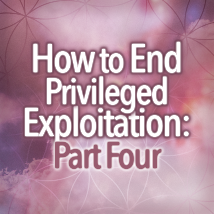 How To End Privileged Exploitation Part Four: The Solution As I See It