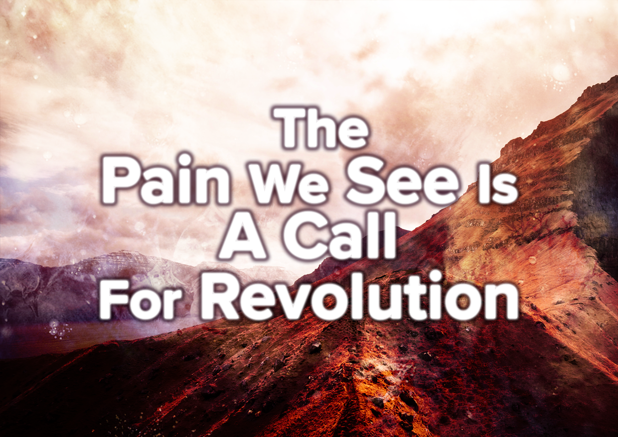 The Pain We See Is A Call For Revolution